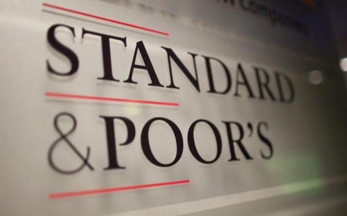 Logo de S&P.