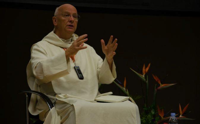 El sacerdote benedictino inglés Laurence Freeman.