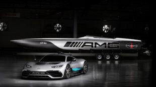 Mercedes y Cigarette Racing se unen para presentar la lancha de los...