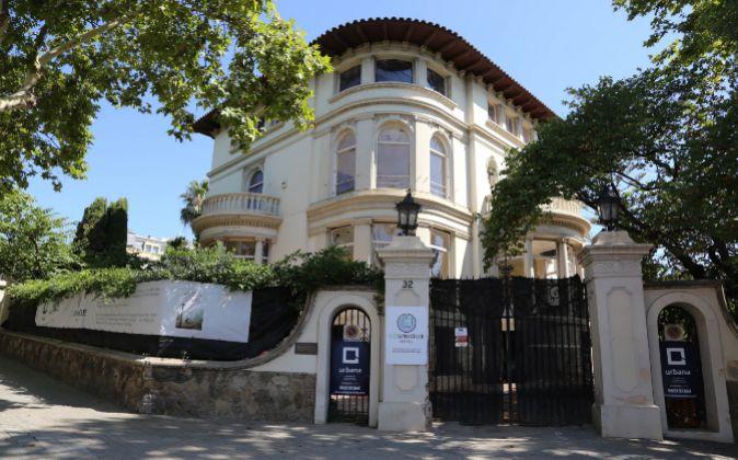 Torre Macaya está en el número 32 de la Avenida Tibidabo de...
