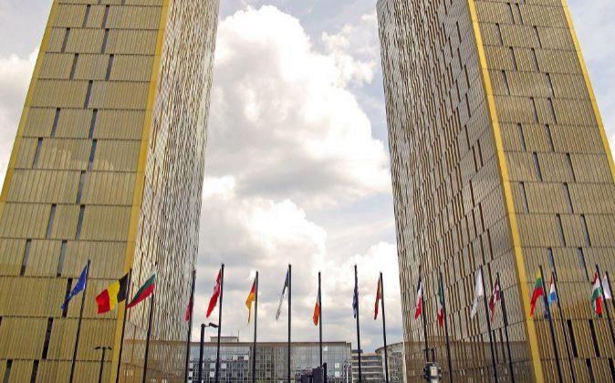 Sede del Tribunal de Justicia de la Unión Europea .
