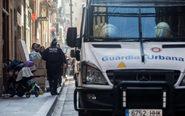 Agentes de la Guardia Urbana de Barcelona en una imagen de archivo.