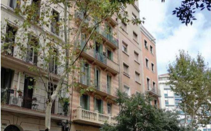 Imagen de uno de los inmuebles de Galic Socimi, en la calle Unió de...