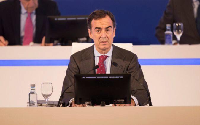 Juan Villar-Mir, presidente de OHL.