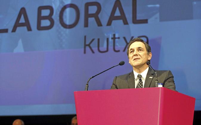 Txomin García, presidente de Laboral Kutxa.
