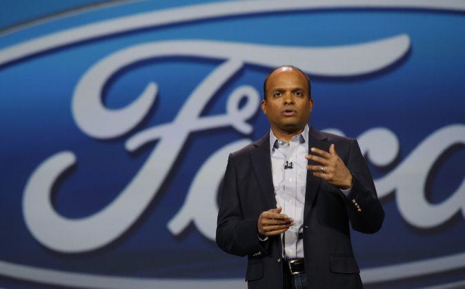 Raj Nair, hasta ahora presidente de Ford para Norteamérica.