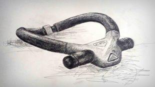 Dibujo del diseño del collar salvavidad, Ploota.