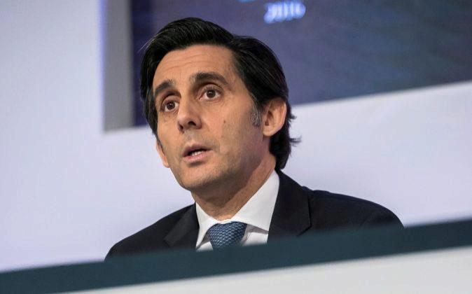 El presidente del Telefónica, José María Álvarez-Pallete
