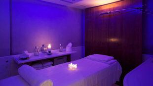 Entre los servicios de este spa urbano, hammam, sauna, restaurante y...