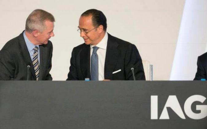 Junta de accionistas de IAG de 2017.