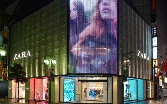 Tienda de Zara en Tokio (Japón)