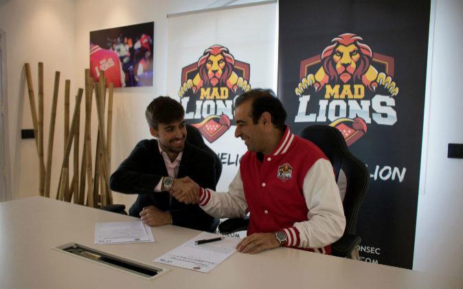 Sergio Yáñez (i), CEO y Cofundador de MAD Lions, y Alejo García...