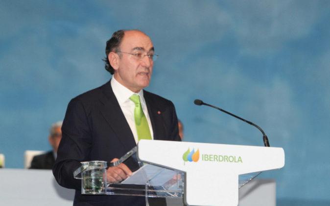 El presidente de Iberdrola, Ignacio Sánchez-Galán.