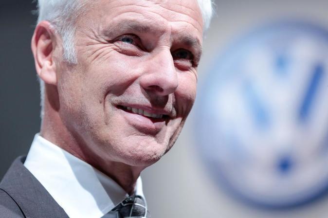 Matthias Mueller, consejero delegado del grupo Volkswagen.