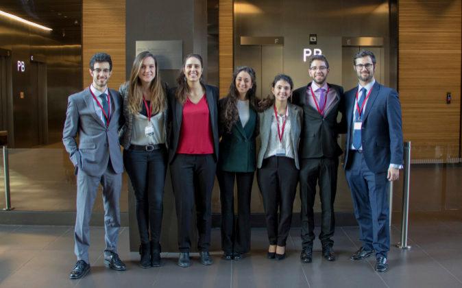 Los integrantes del equipo de la Universidad Carlos III.