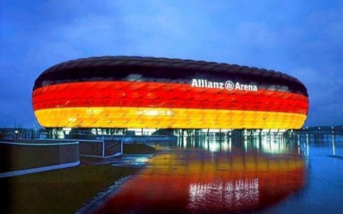 Estadio del Bayern de Munich. Allianz, Adidas y Audi tienen cada una...