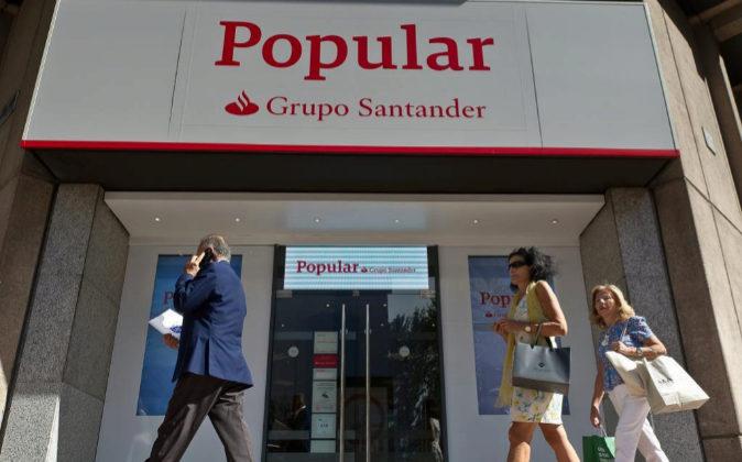 Oficina Popular, Grupo Santander.