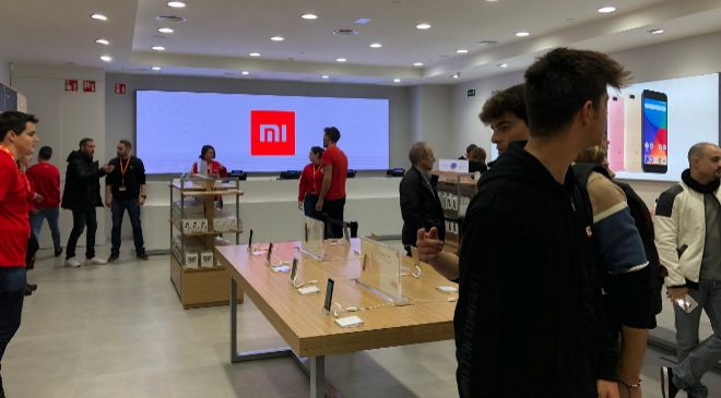Tienda Xiaomi en Gran Vía Barcelona