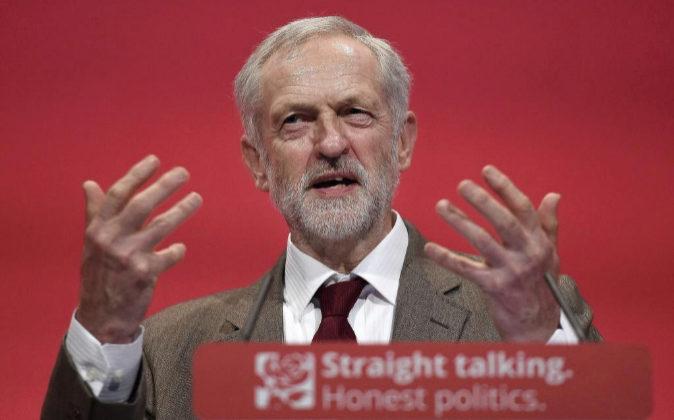 Líder del Partido Laborista británico, Jeremy Corbyn.