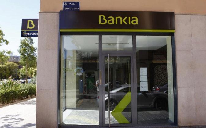 Sucursal bancaria de Bankia.