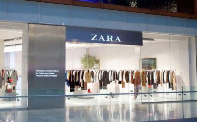 Imagen de la tienda de Zara para pedidos online en Londres