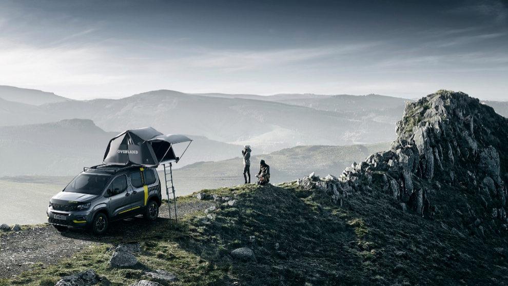 El prptotipo del Peuget Rifter 4X4 Concept será presentado en el...