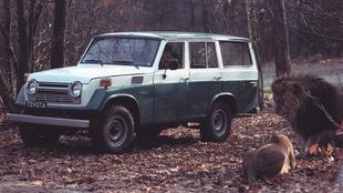 Land Cruiser Serie 40, la segunda generación del modelo y la más...