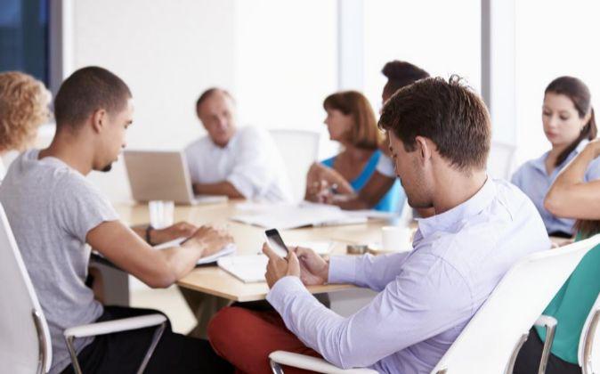 Menos tecnolog a en las reuniones para ser m s productivo for Mercadona oficinas centrales telefono