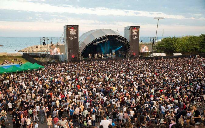 El festival Primavera Sound durante la edición del pasado junio.
