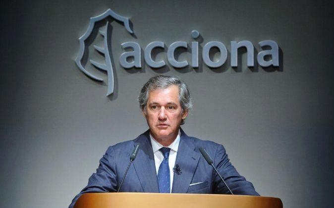 José Manuel Entrecanales es el presidente de Acciona.