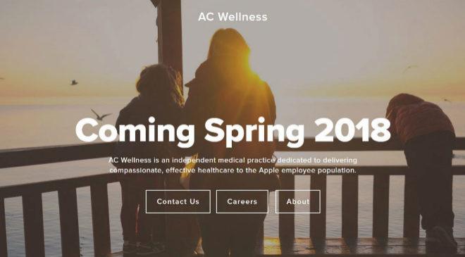 Imagen de la página web de AC Welness, las nuevas clínicas de salud...
