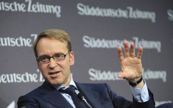 Jens Weidmann es el presidente del Deutsche Bundesbank.