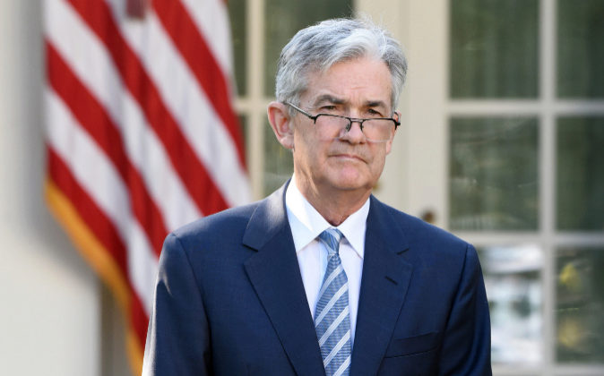 El presidente de la Reserva Federal, Jerome Powell.