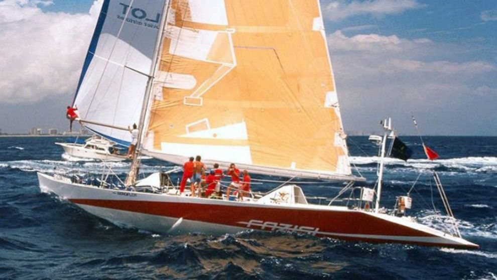 El Fazisi, durante la Whitbread Round the World Race 89/90.