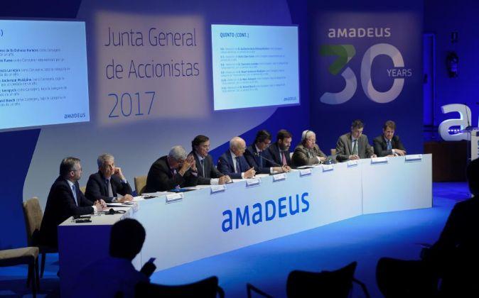 Junta de Amadeus de 2017.