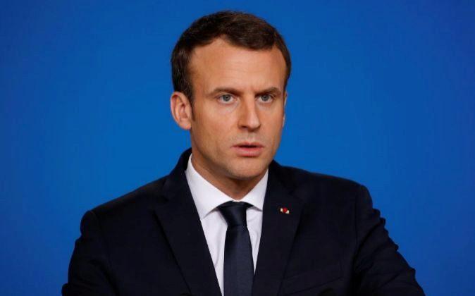 El presidente galo, Emmanuel Macron.