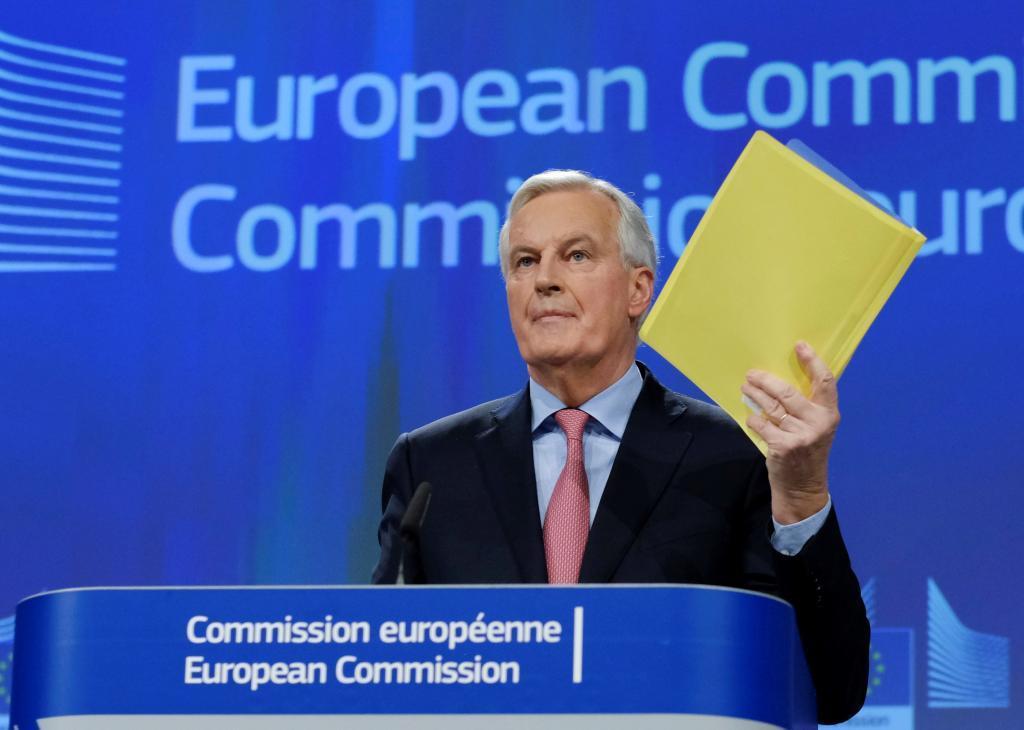 El negociador jefe de la Unión Europea (UE) para el...