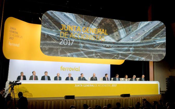 Junta de accionistas de Ferrovial de 2017