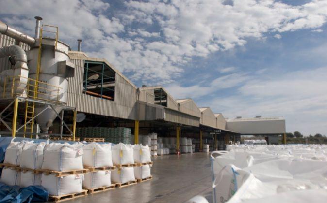 Fábrica de Ercros en Almusafes (Comunidad Valenciana)