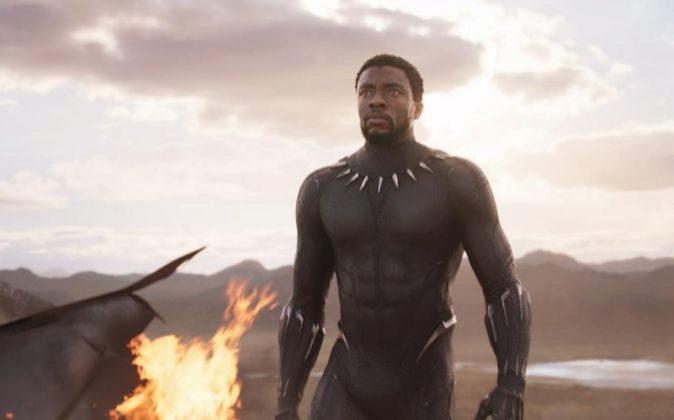 Chadwick Boseman interpreta en la última entrega de Marvel a...