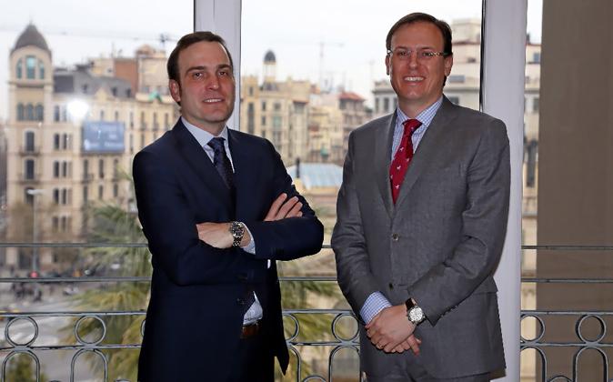 Iker Zabalza (izquierda) y Stephan Koen, socios de Dextra y de la...