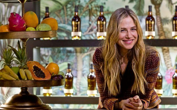 Martina Klein en el espacio gastronómico de Ron Zacapa, presentado la...