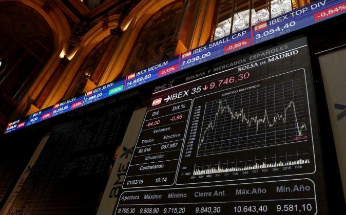 El Ibex 35 es el principal indicador de la Bolsa española.