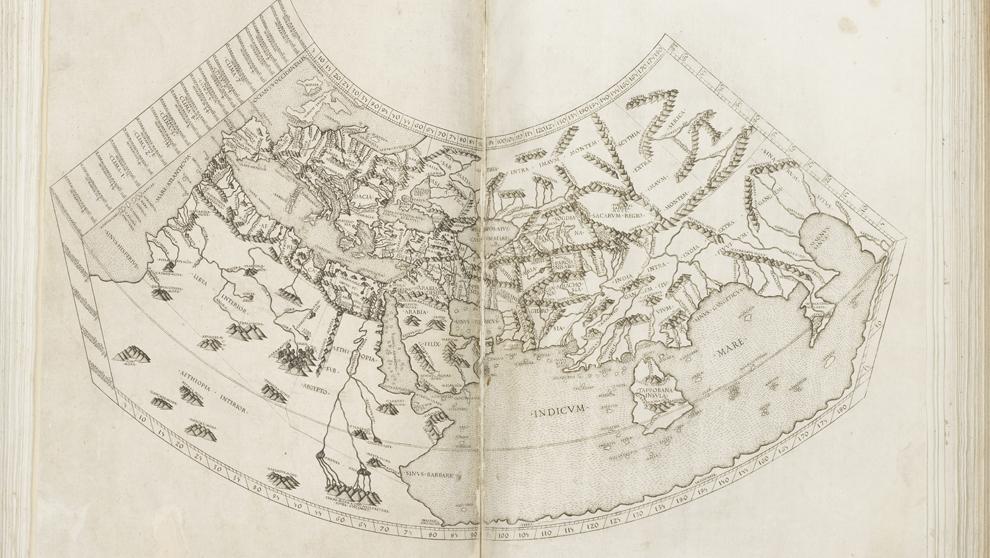 """La segunda edición de la """"Geografía"""" de Ptolomeo (1478) se..."""