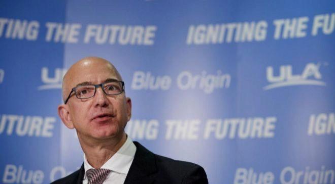 Jeff Bezos, consejero delegado de Amazon.com.