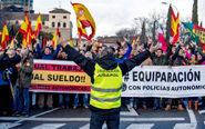 Manifestación el pasado 5 de febrero en Toledo para pedir la...