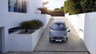 El Jaguar I-Pace se mueve con dos motores eléctricos.