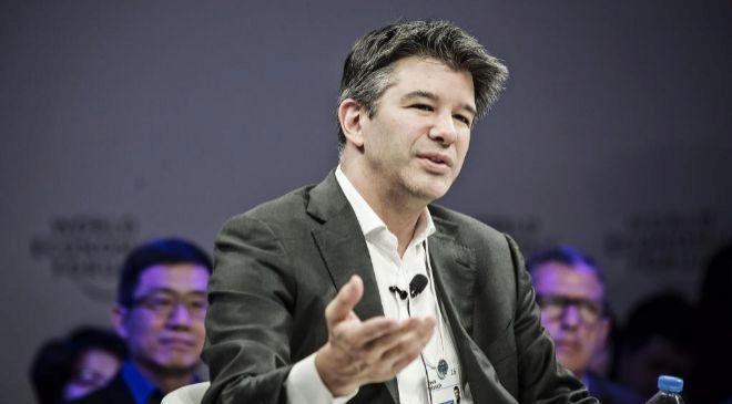 Travis Kalanick, fundador de Uber y ex consejero delegado de la...