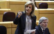 La ministra de Empleo y Seguridad Social, Fátima Báñez, la semana...