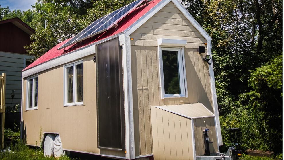 Modelo de la empresa canadiense Habitations MicroEvolution 32.000...